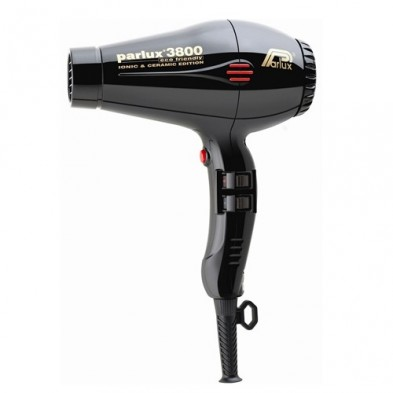 Parlux 3800 Dryer (2100W) Ceramic & Ionic, Black