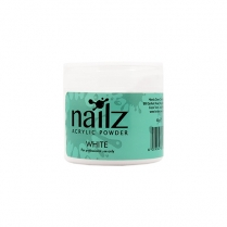 Nailz Acrylic Powder White 50g