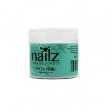 Nailz Acrylic Powder Sheer Pink 50g
