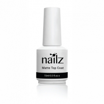 Nailz Gel Polish 15ml (Matte Top Coat)
