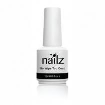 Nailz Gel Polish 15ml (No Wipe Top Coat)