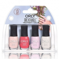 ORLY Breathable Treatment+Color 5.3ml 28909 4pc Mini Kit #3