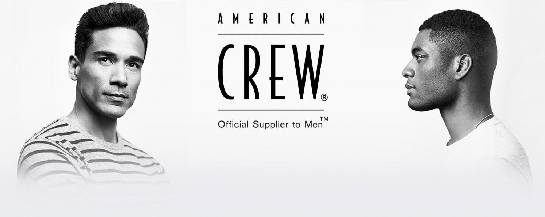 American Crew Banner