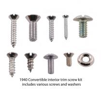 Interior Trim Screw Kit - Convertible