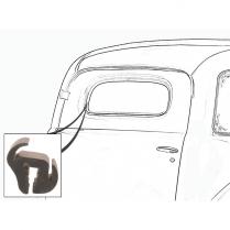 Back Glass Seal - Sedan Delivery