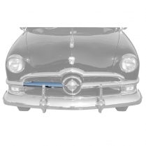 Center Grill Bar RH Chrome - 1950 Ford Car