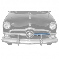 Center Grill Bar LH Chrome - 1950 Ford Car