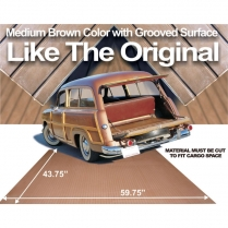 "Cargo Mat 60"" x 44"" - 1950-64 Ford Car"
