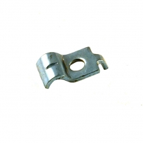 Throttle Cable Clamp - Silver Eagle