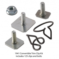 Body Trim Clip Kit - Convertible
