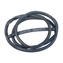 Windshield Seal - with Groove for Chrome - Closed Car