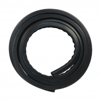 Windshield Seal - with Groove for Chrome - V Butted Glass