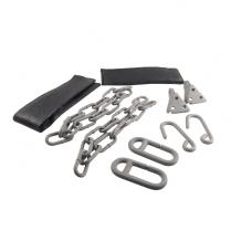 Tailgate Chains -  Plain Steel