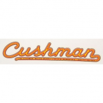 Body Side Decal - 30 series - Water Transfer - 1942-45 Cushman Scooter