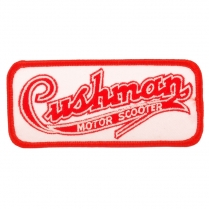 Cushman Script Embroidered Patch - 1936-65 Cushman Scooter