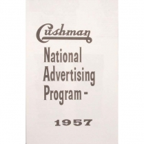 National Advertising Sales Literature - 1937-65 Cushman Scooter