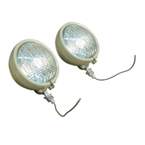 Tract-O-Lite Headlight Assembly 1 Pair 12 Volt