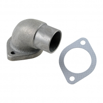 Exhaust Elbow w Gasket w172, 2OD outlet - 1958-64 Ford Tractor