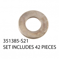 351385-S21 21-STUD ENGINE WASHER KIT (42
