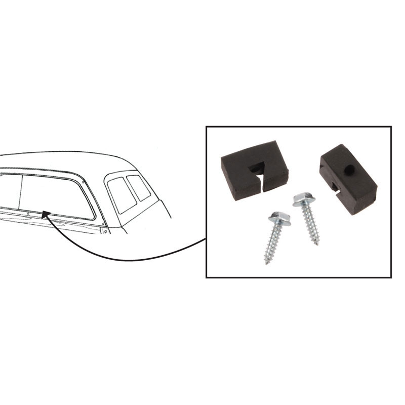 stops or sliding 1  4 window pa shop ford restoration parts