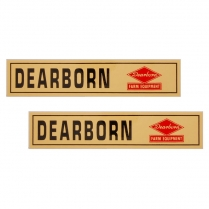 All Ford Dearborn Implement Decal - 1939-64 Ford Tractor