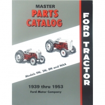 Master Parts Catalog 1939-54 - 1939-54 Ford Tractor