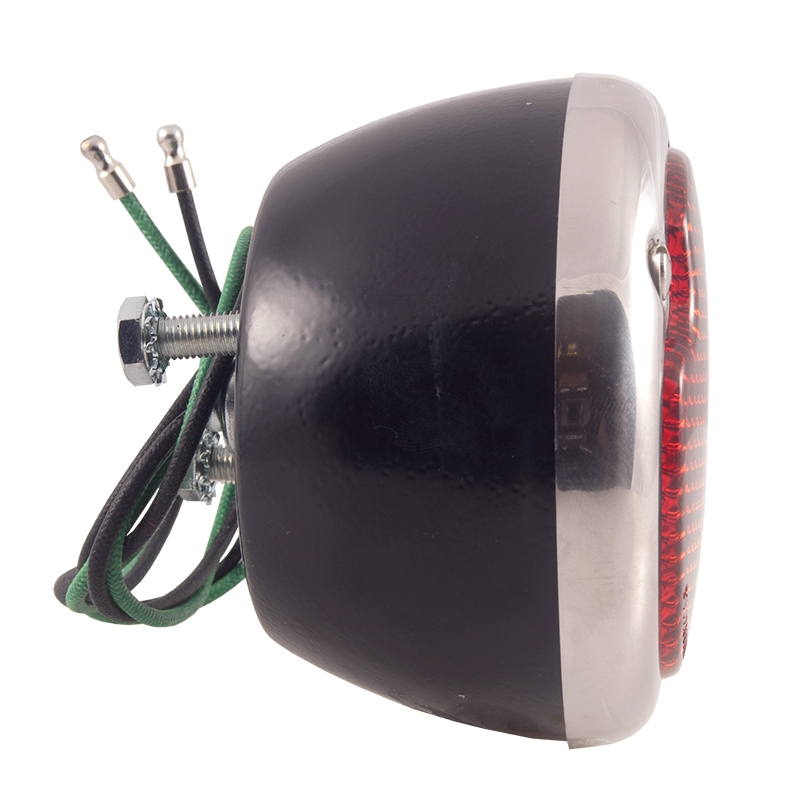 Taillight Assembly - RH - Black - 1933-52 Ford Truck, 1933-51 Ford Car
