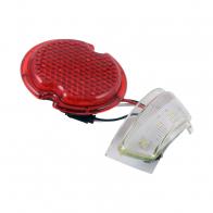 40-13450-LEDLH LED TAIL LIGHT LENS LH W/LIC P