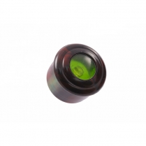 Cigar Lighter Knob - Brown Marble with Green Eye