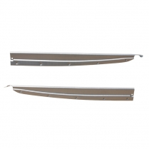 Door Scuff Plates - Phaeton Front Door - Pair