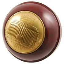 Commemorative Gear Shift Knob - Brown