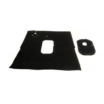 Floor Mat - Rubber- Black