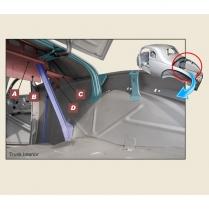 Seat Back Brace Kit