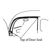 Top of Door Seals - 2 Door
