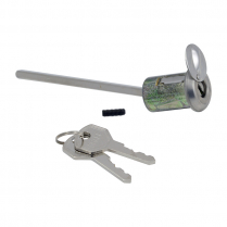 DOOR LOCK CYLINDER & KEYS W/TE