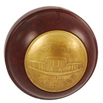 Commemorative Gear Shift Knob - Brown - 1935 Ford Car