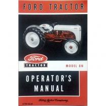 8N Operators Manual - 1948-52 Ford Tractor
