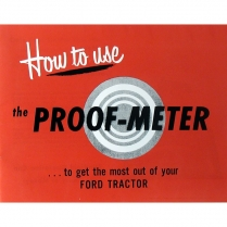 8N Proofmeter Guide - 1948-52 Ford Tractor