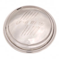 Hub Cap - 8 inch Diameter - Stainless Pickup - 1946 Ford Truck, 1946-47 Ford Car