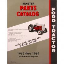 Master Parts Catalog 1953-64 - 1953-64 Ford Tractor