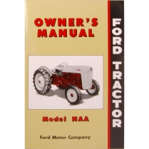 """NAA Owner""""s Manual - 1953-54 Ford Tractor"""