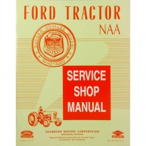 NAA Service Manual - 1953-54 Ford Tractor