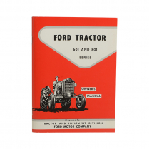 Owners Manual - 1958-62 Ford Tractor