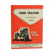 Owners Manual - 1958-64 Ford Tractor