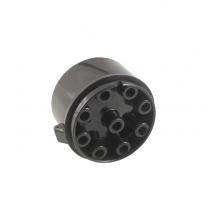 Distributor Cap - V8 - Black