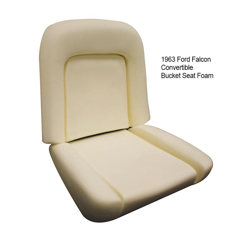 Bucket Seat Foam - 1963-67 Ford Falcon