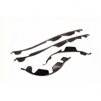 Horn Grille Panel Stainless Trim Set