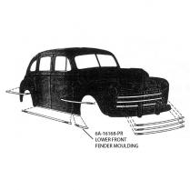 Fender Molding