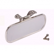 Rear View Mirror - Stainless - 1940-52 Ford Truck, 1947-48 Ford Car