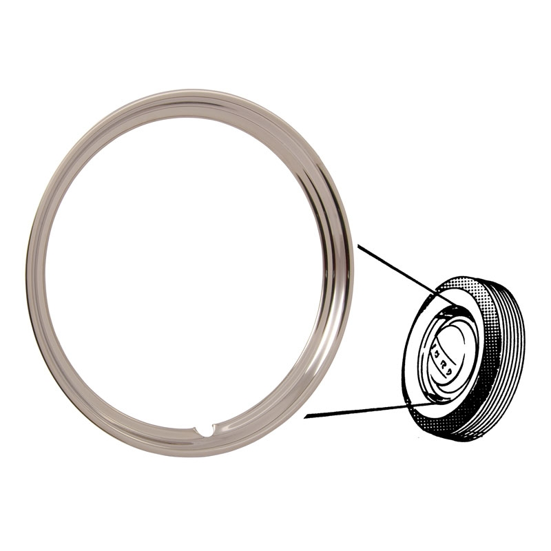 "Beauty Ring - Outer - 16"" - 1940-66 Ford Truck, 1940-56 Ford Car"